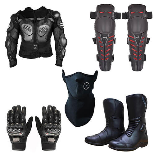 BIKE RIDING GEARS